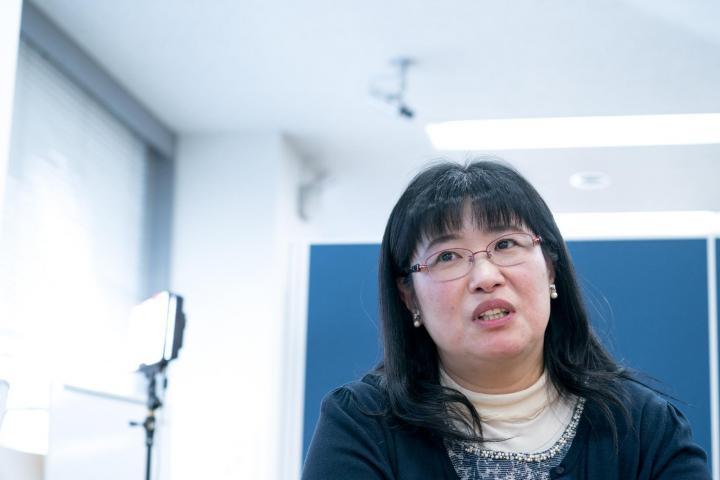 東京電機大学システムデザイン工学部 徳永弘子博士のサムネイル画像