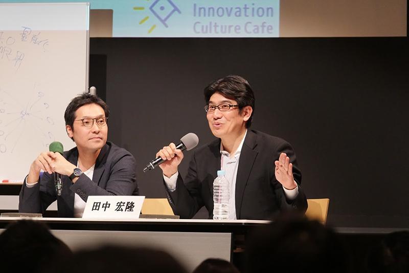 4_スマートキッチンサミットジャパンについて話す田中氏_Mr. Tanaka talking about Smart Kitchen Summit Japan.JPG