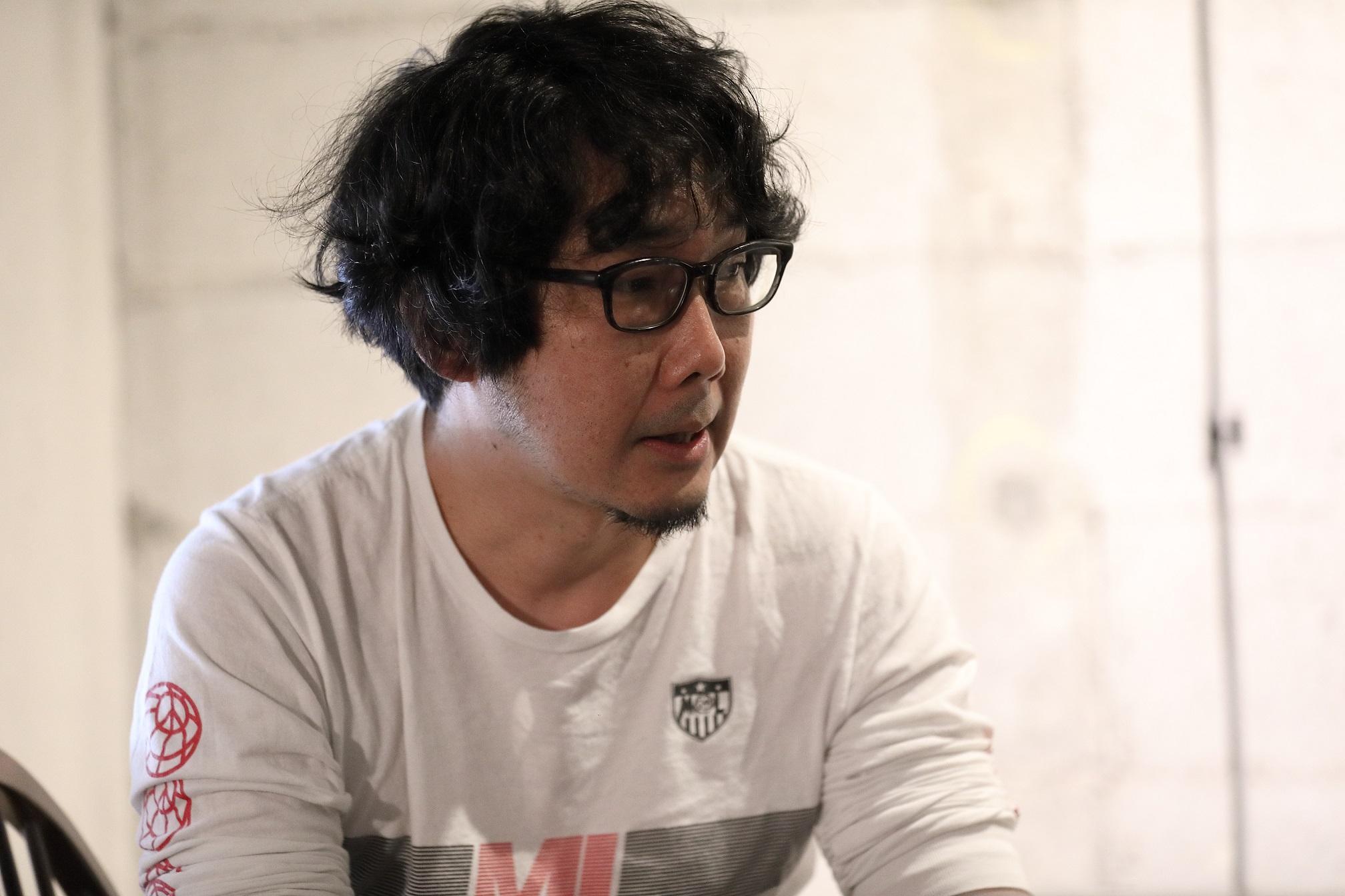 対談中の若林さんの様子_Wakabayashisan at the discussion.JPG