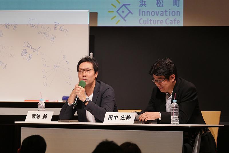 5. SENDを紹介する菊池氏_Mr.Kikuchi introducing SEND.JPG