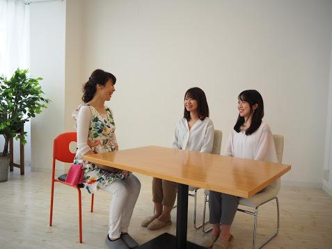2_ 清田先生との対談の様子_With Ms. Seita.JPG