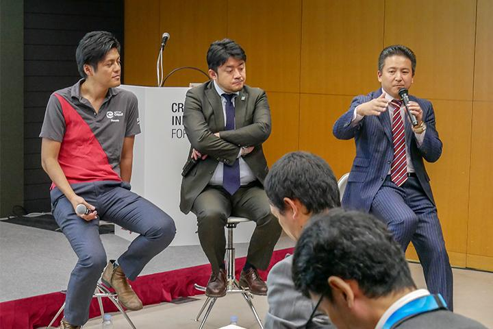 22_トークセッションの様子_Picture of talk session at Cross Value Innovation Forum 2018.jpg